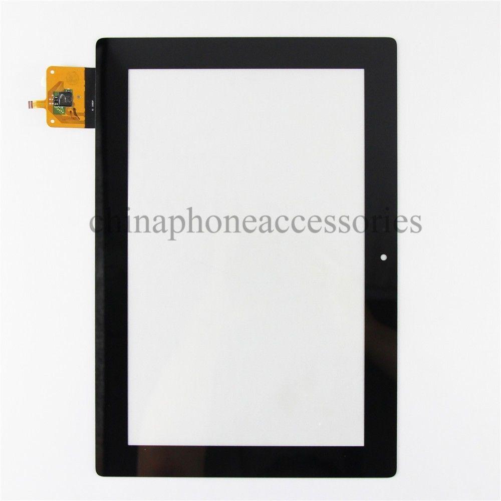 Замена Для Lenovo IdeaTab S6000 Сенсорный Экран Планшета Стеклянная Панель Ремонт часть Черный + инструменты аксессуар чехол lenovo ideatab s6000 g case executive white
