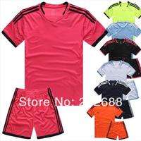 custom man's or women's blank or plain football kit,football team uniform.