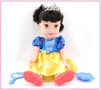 My First Fairy Tales Princess Snow White Doll Gift for Girls Baby Toy 34cm Loose
