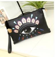 Big eyes bags women's handbag day clutch Shoulder Bags