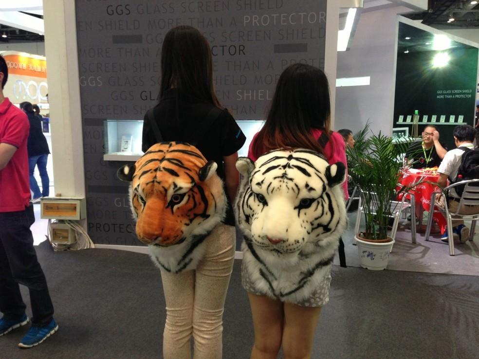 BIGBANG gd Тигр голову рюкзак