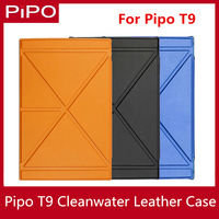 A+ Quality PiPO T9 Tablet PC Clean-water leather case for PIPO T9 Phablet Free Shipping