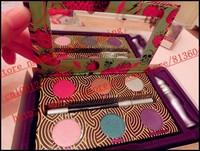 2014 New - 1 pcs the fun palette 6 colors eyeshadow palette , a primer, a eye pencil makeup! happy-shopping