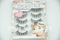 5 pairs in box eyelash black Fashion Natural Curl sex NO.116 Eyelashes Japan