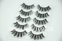 5 pairs in box eyelash black Fashion Natural Curl sex NO.111 Eyelashes Japan