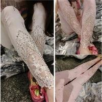 2014 fashion Korea edition drill decorative lace hollow out splicing pants leisure pencil pants,women leggings/Free shipping