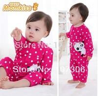 Free shipping Baby romper newborn children's clothing 100% cotton romper spring and autumn summer sleepwear 0-1 year old