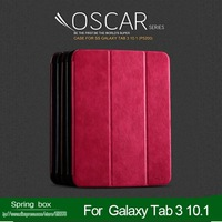 Original KALAIDENG Oscar Tablet Series Flip ultrathin PU leather Cover  Case For Samsung Galaxy Tab 3 10.1 P5200  Free Gift