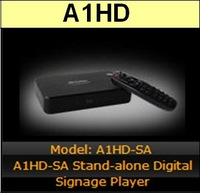 Measy A1HD-SA Stand-alone Digital Signage Player 1080P High Definition 3D Blu-ray Disc