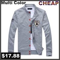 New 2014 T Shirt boys casual dress male sweatshirts Spring Shirts Slim korean jackets for men sportswear designer mens clothes