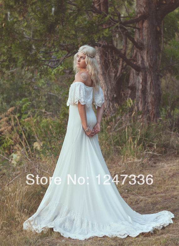 Bohemian Hippie Wedding Dresses Bohemian Wedding Dress