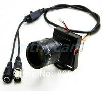 New HD 1000TVL CMOS 9-22mm Manual IRIS Focus Zoom Lens CCTV Home Surveillance Box Bullet FPV Color Mini Camera OSD Menu