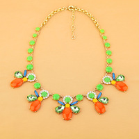BigBaBa Fashion fashion accessories neon color short design all-match necklace  fashion jewelry N