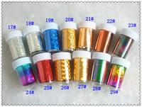 Laser nail art nail art colorful HARAJUKU  new 2014 free shipping
