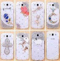 luxury handmade rhinestone crystal mobile phone case protective case shell For Samsung galaxy s3 S III SIII i9300 case