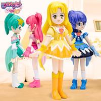 Free shipping special cartoon  mini beautiful Mechi baby doll little magic fairy model toys plastic toys girl birthday gift 1pc