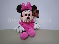 30cm plush minnie mouse pink minnie mouse  kids toy kids doll birthday presents one piece free shipping