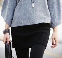 Free shipping! Winter Korean Women | knitted skirts | wool wrap skirt mini skirt | step skirt