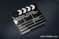 Studio props photography props wooden clapperboard director board blackboard