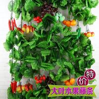Artificial fruit rattails artificial flower vine decoration anthoxanthin fake tree plastic flower
