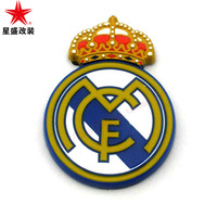 Galaxy emblem 3d stereo car stickers badge champions league