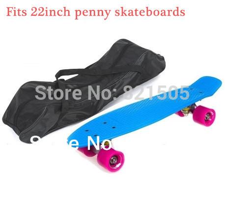 Longboard skateboard bag Carry bag fits 22inch penny skate long board mini cruiser backpack bag(China (Mainland))