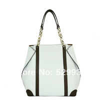 Desigual bolsas femininas grandes 2014 spring 100% real leather chain handles shopping hand bag