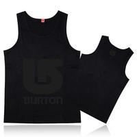 Brand design classic undershirt for man fashion causal sleeveless tank tops mens sport singlet cheap bodybuilding Burton vests