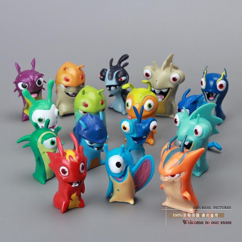 Симпатичные новые персонажи из slugterra ПВХ
