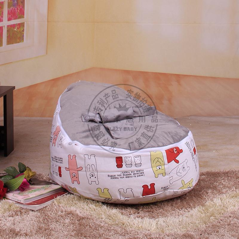 2014 novo Design do bebê cadeiras de bebé beanbag clibs bebê dorminhoco portátil assento do bebê cadeira cama cadeiras reclináveis grátis frete Via EMS(China (Mainland))