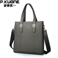 Leather cross-body genuine leather man bag first layer of cowhide male handbag laptop bag  for ipad   bag male briefcase