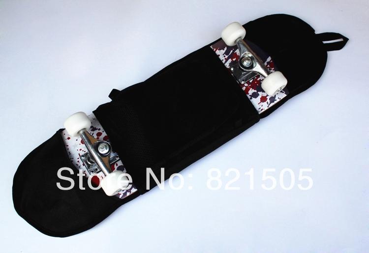 80cm longboard skateboard single shoulder bag long board skate backpack carrying bag fit for longboards(China (Mainland))