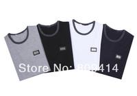2014 Brand T-Shirt Men's Cotton 100% Short Sleeve  design O-neck shirts Top Quality 4 Color M--XXL Free Shipping