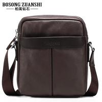 Man bag genuine leather shoulder bag messenger bag business casual bag