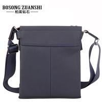Hodginsii diamond male shoulder bag messenger genuine leather