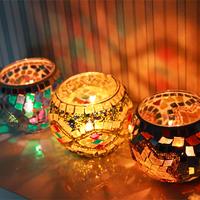 Fashion glass mosaic mousse decoration romantic ktv home accessories