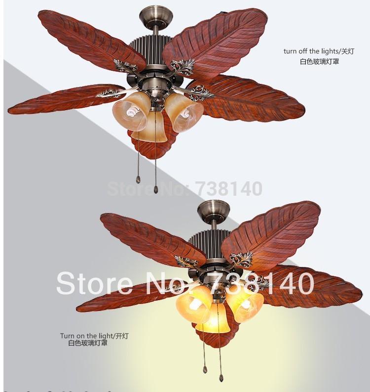 Compra ventiladores de techo decorativos online al por - Ventiladores de techo antiguos ...