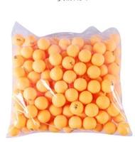 wholesale  (120pcs/lot) orange 3-stars Big 40mm Olympic Table Tennis Balls Ping Pong Balls