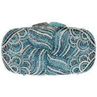 2014 brand new full austrian rhinestone women's evening party case luxury banquet bag