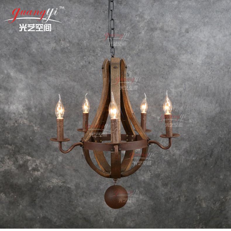 Acquista allingrosso Online lampadari di rame antico da ...