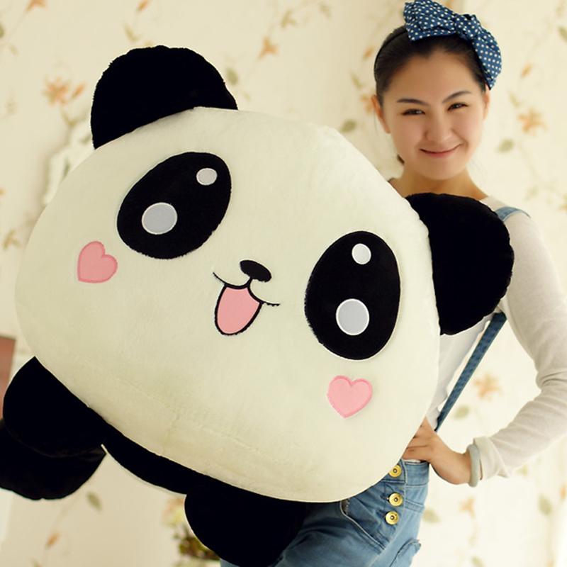 Super large giant panda plush fabric pillow cushion toy doll cloth doll dolls(China (Mainland))