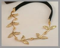 Europe romantic Olive leaf Headband Hairpin jewelry! crystal shop hair jewelry!