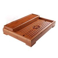 Japanese style Bamboo Tea Tray  Teaberries kung fu tea trays bamboo tea tools good quality !  tea sets