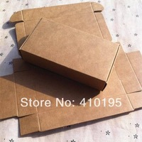 11*6*2.2CM Free shipping HIGH QUALITY ! wholesale 150pcs/lot 350G kraft paper soap packing box,jewelry&gift packing box