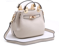 Smilyan genuine leather new 2014 fashion brand candy color leather messenger shoulder bags handbags totes for women SY6602009