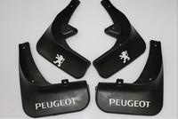 2011 Peugeot 408 Soft plastic Mud Flaps Splash Guard
