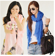 women silk scarf promotion