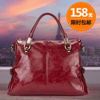 2014 spring the trend of casual fashionable handbag cross-body women's handbag