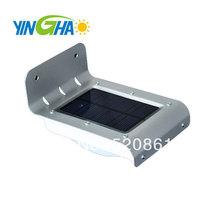 Free Shipping 16LED SOLAR POWER PIR MOTION SENSOR SECURITY WALL LIGHT LAMP OUTDOOR GARDEN