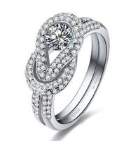 Diamond Rings For Women Wedding Ring Ring Silver 925 Sona Diamond Luxury Ring Exaggerated Ring Women Rings Free Shipping